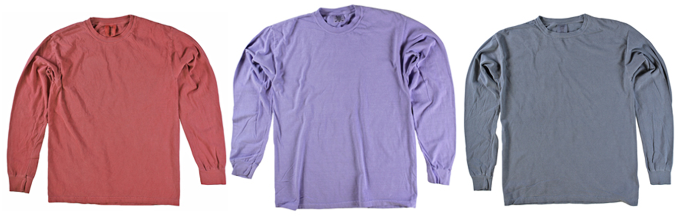 Comfort Colors Long Sleeve Closeouts