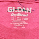 Mill Grade Irregular T-Shirt with Marked Out Gildan Label