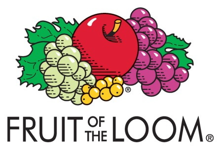 Fruit of the Loom logo closeouts and irregulars