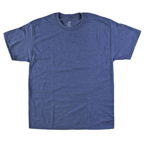 RGRiley | Adult Bulk Navy Heather T-Shirts | Hanes Irregulars