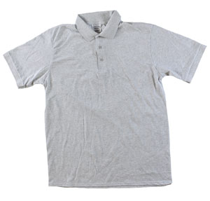 RGRiley | Adult Bulk Ash Polo Shirts | Irregular