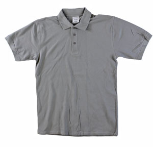 RGRiley | Adult Bulk Cool Grey Polo Shirts | Irregular
