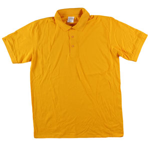RGRiley | Adult Bulk Gold Polo Shirts | Irregular