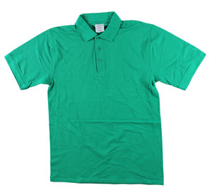 RGRiley | Adult Bulk Kelly Green Polo Shirts | Irregular
