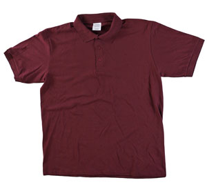 RGRiley | Adult Bulk Maroon Polo Shirts | Irregular