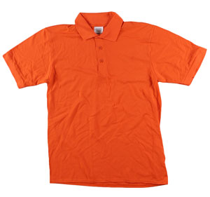 RGRiley | Adult Bulk Orange Polo Shirts | Irregular