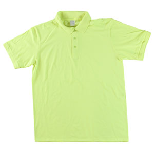 RGRiley | Adult Bulk Safety Green Polo Shirts | Irregular