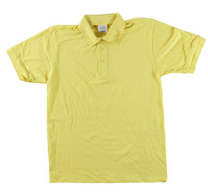 RGRiley | Adult Bulk Yellow Polo Shirts | Irregular