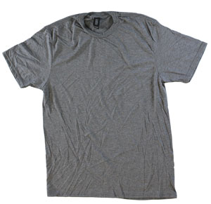 RGRiley.com | Adult Bulk Tri-Blend Grey Frost T-Shirts | Closeout