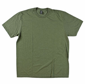 RGRiley | District Made Tri Blend Olive Frost T-Shirts | Closeout & Irregular