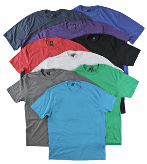 RGRiley | Mens Tri Blend T-Shirts | Closeout & Irregular