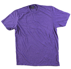 RGRiley.com | Adult Bulk Tri-Blend Purple Frost T-Shirt | Closeout