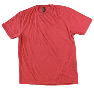 RGRiley.com | Adult Bulk Tri-Blend Red Frost T-Shirt | Closeout