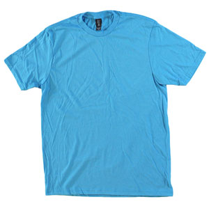 RGRiley.com | Adult Bulk Tri-Blend Turquoise Frost T-Shirt | Closeout