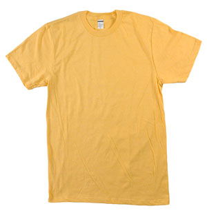 RGRiley.com | Mens Tear Away Label Golld Heather T-Shirts | Closeout