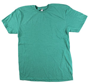 RGRiley.com | Mens Tear Away Label Kelly Heather T-Shirts | Closeout