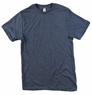 RGRiley.com | Mens Tear Away Label Navy Heather T-Shirts | Closeout