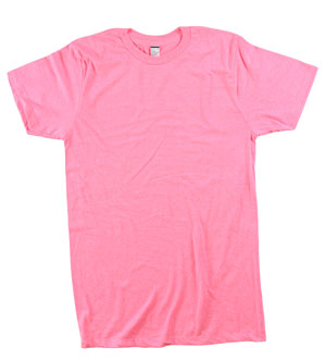 RGRiley.com | Mens Tear Away Label Neon Pink T-Shirts | Closeout