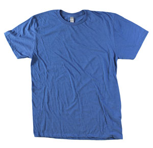 RGRiley.com | Mens Tear Away Label Royal Blue T-Shirts | Closeout