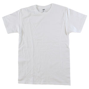 RGRiley | Mens Tear Away Label White T-Shirts | Closeout