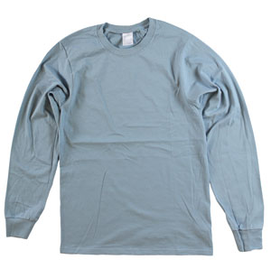 RGRiley | Adult Bulk Long Sleeve Blue Spruce T-shirts | Irregular