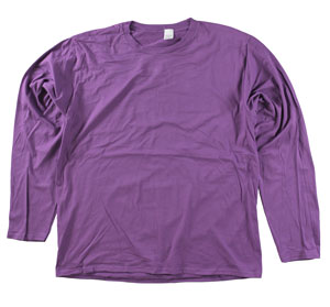 RGRiley | Adult Bulk Long Sleeve Berry T-shirts | Irregular