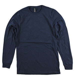 RGRiley | Adult Bulk Long Sleeve MIdnught T-shirts | Irregular