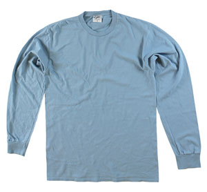 RGRiley | Adult Bulk Long Sleeve Mist T-Shirts | Irregular