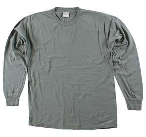 RGRiley | Adult Bulk Long Sleeve Pewter T-Shirts | Irregular