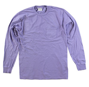RGRiley | Adult Bulk Long Sleeve Amethyst T-shirts | Irregular
