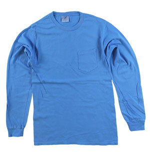 RGRiley | Adult Bulk Long Sleeve Blue Moon T-shirts | Irregular
