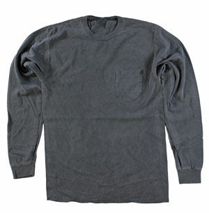 RGRiley | Adult Bulk Long Sleeve Coal T-shirts | Irrrgular