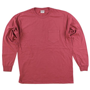 RGRiley | Adult Bulk Long Sleeve Merlot T-shirts | Irregular
