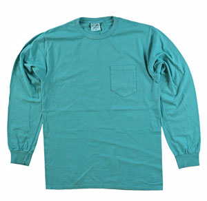 RGRiley | Adult Bulk Long Sleeve Peacock T-shirts | Irregular