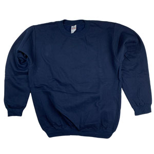 RGRiley | Mens Navy Crew Neck Sweatshirts | Closeout