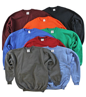 RGRiley Adult MIxed Colors Private Label Long Sleeve Sweatshirts | Irregular