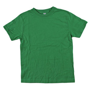 RGRiley | Youth Boys Kelly Green Tearaway Label T-shirts | Closeout