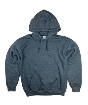 RGRiley | Gildan Mens Graphite Pullover Hoodies | Irregular