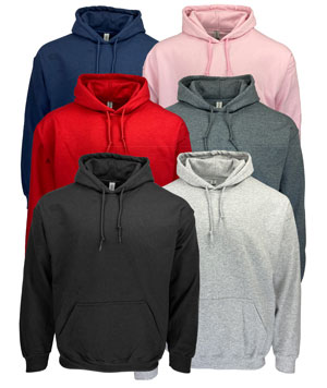 RGRiley | GIldan Mens Pullover Hoodies | Irregular