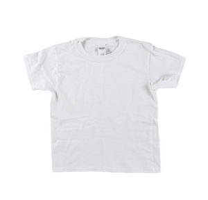 RGRiley | Youth White Short Sleeve T-Shirts | Irregular