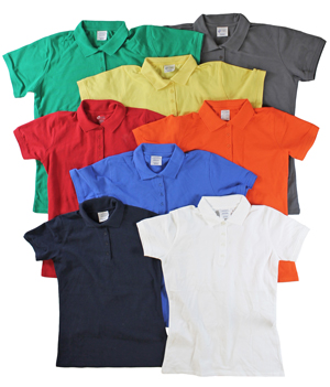 RGRiley | Ladies 4 Button Henley Polo Shits | Irregular