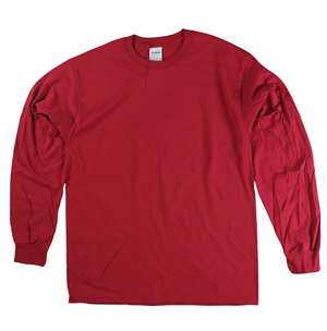 RGRiley | Adult Garnet Long Sleeve T-Shirts | Closeout
