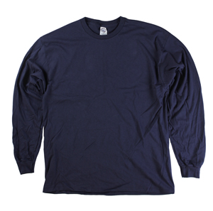 RGRiley | Adult Navy Long Sleeve T-Shirts | Closeout