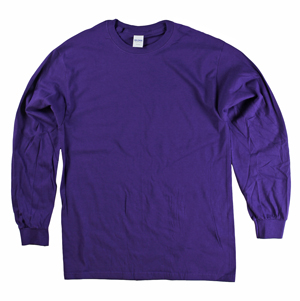 RGRiley | Adult Purple Long Sleeve T-Shirts | Closeout