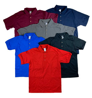 RGRiley | Gildan Mens Polo Shirts | Irregular
