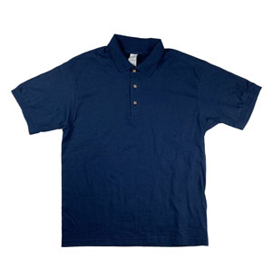 RGRiley | Gildan Mens Navy Polo Shirts | Irregular