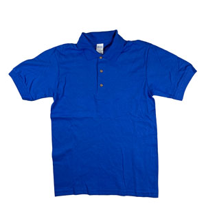 RGRiley | Gildan Mens Royal Polo Shirts | Irregular