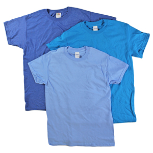RGRiley | Adult Blue Short Sleeve T-Shirts | Closeout