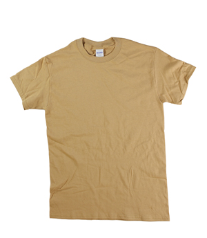 RGRiley | Adult Gold Short Sleeve T-Shirts | Closeout