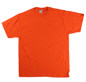 RGRiley | Adult Orange Short Sleeve T-Shirts | Closeout